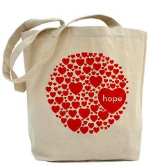 JAPAN AID Hope Tote Bag