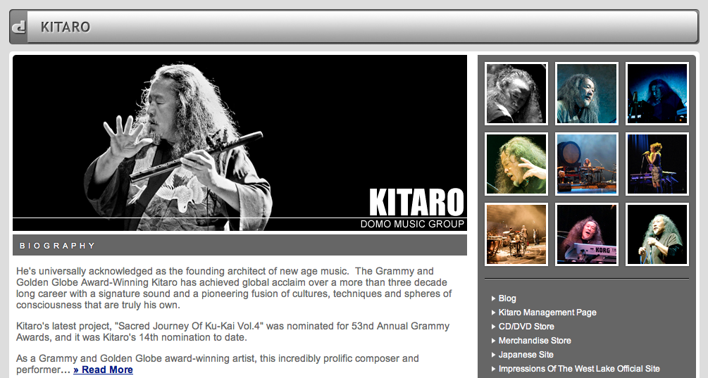 Kitaro_Official_page_domo_top