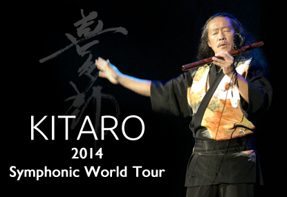 Kitaro 2014 Symphonic World Tour