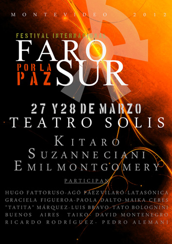 Farosur: Kitaro Performing in Uruguay!